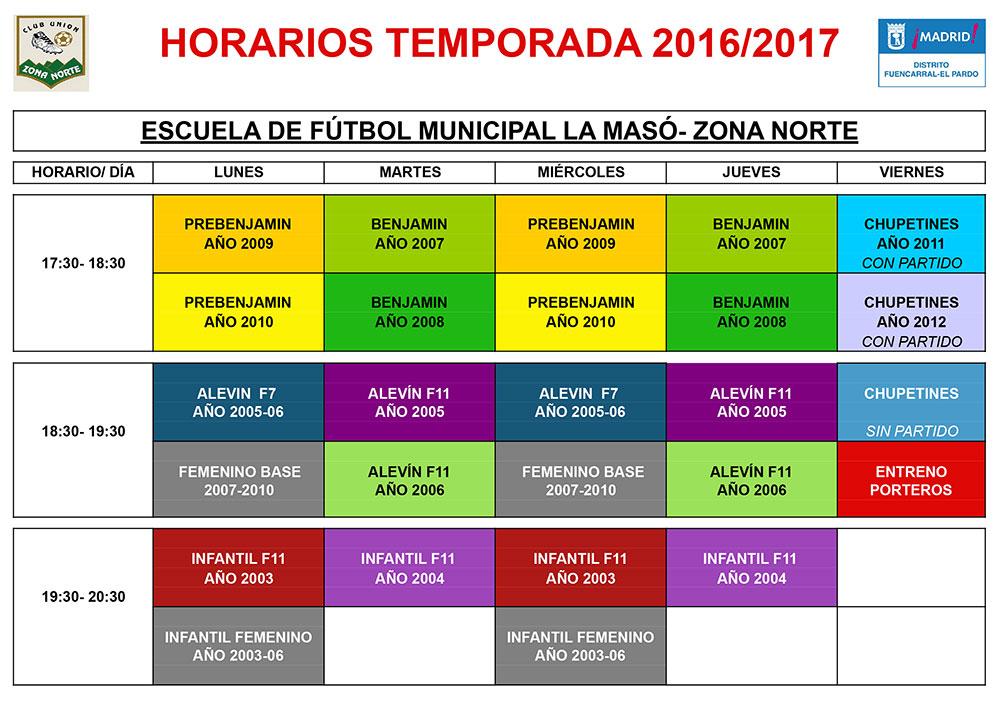 HorariosMaso16-17