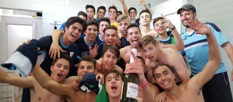 Juvenil B Ascenso y Campeón de Liga